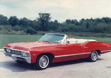 Image result for convertible 67 impala