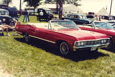 C H D - 1967 Chevrolet Impala Convertible